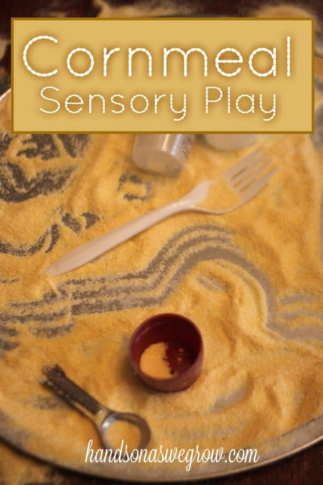 Cornmeal Sensory Activity
