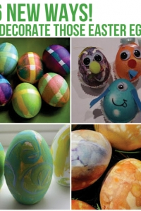 26 New Ways to Decorate Those Easter Eggs!