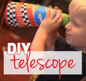 diy telescope craft for kids 1