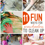 11 Fun Ways for Preschoolers to Clean Up