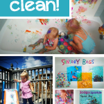 10 Tips to Keep Messy Play Clean
