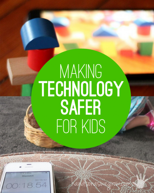 A safer way for kids using technology