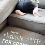 Simple Obstacle Course for Crawlers