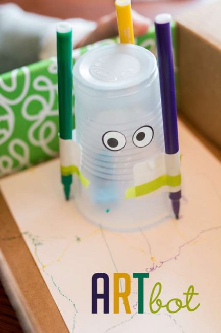 2 Robot Crafts Your Kids Will Beg To Make Hands On As