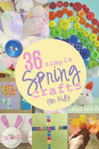 36 Spring Crafts for Kids That Are Simple