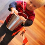 Bucket & Clothesline Activity for Toddlers