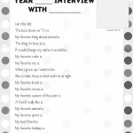 Year-End Interview Questions for Kids Made Awesome by YourKidVid [+Free Printable!]