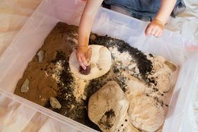 Dinosaur Fossil Sensory Excavation
