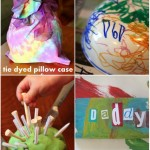 Tie Dye, Father's Day & Play Dough