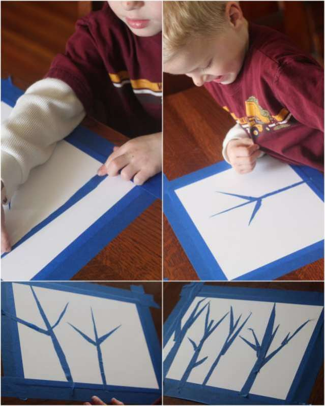 Birch Tree Art & Help Reforest