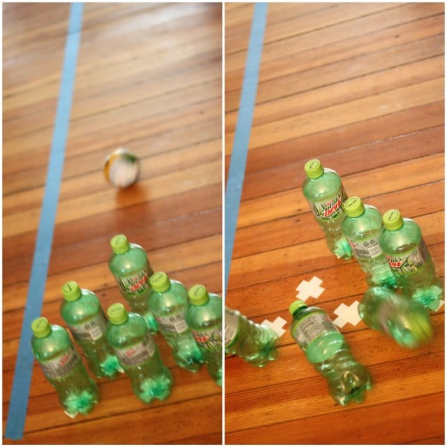 Pop Bottle Bowling Activity