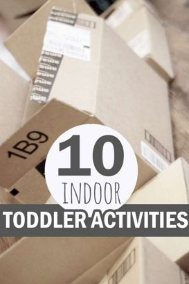 10 indoor toddler activities