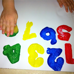 Toddler Number Learning Activity