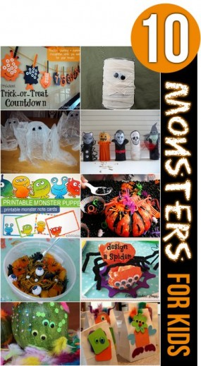 10 Monsters for Kids