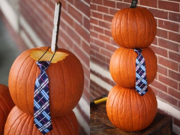 How to make a Mr. Pumpkin Man