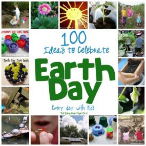 100 Ways to Celebrate Earth Day with Kids from The Educator's Spin On It