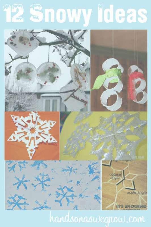 12 snowy indoor activities for kids this winter for Indoor crafts for kids
