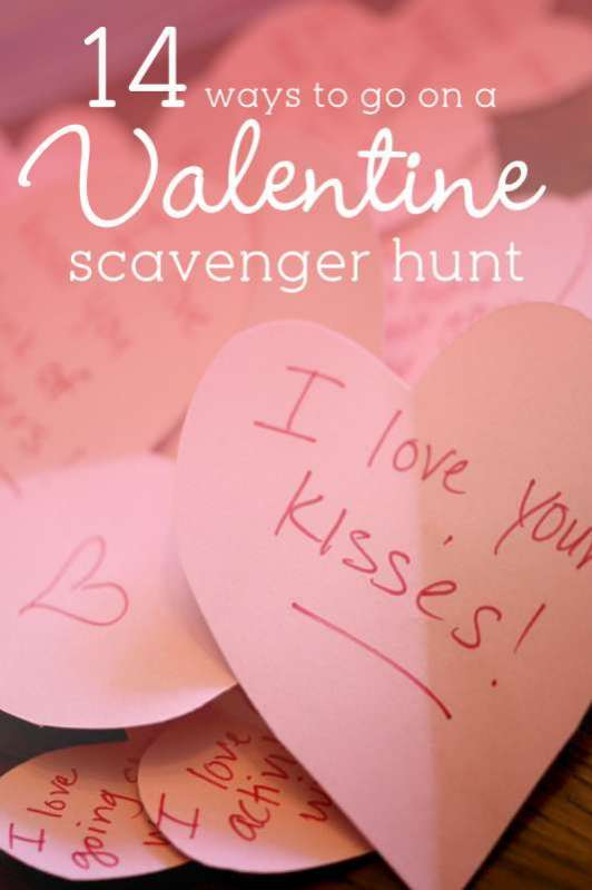 14 lovely valentine scavenger hunt ideas for kids to do, Ideas