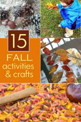 15 fall activities and crafts for kids to do this season