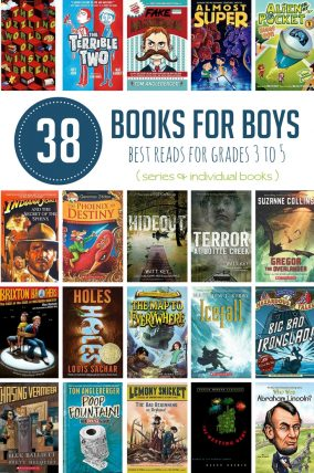 Books for Boys in 4th Grade