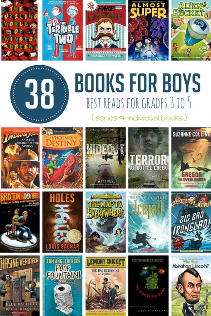 Recommended 4th Grade Books For Boys Hands On As We Grow