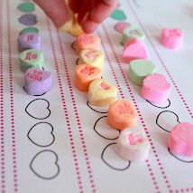 Candy Heart Patterning