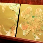 St. Patrick's Day Craft: Bubble Wrap Printed Shamrock
