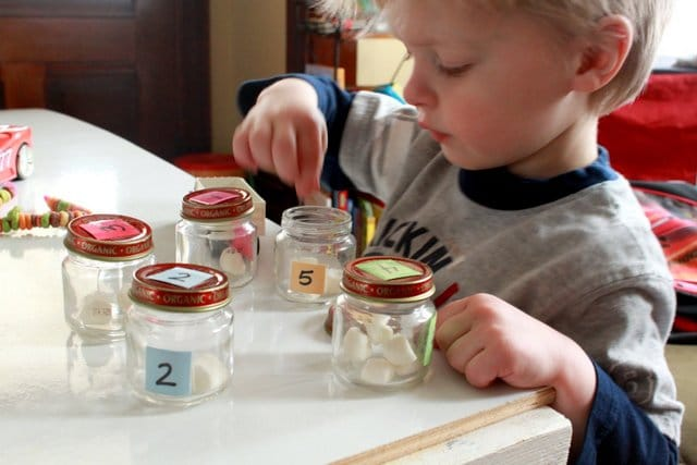 Learn to Count with Grain Bins as a Number Activity