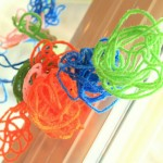 Yarn Craft for Kids: A Circle Garland!