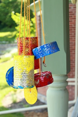 DIY Tin Can Windchimes