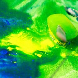 Frozen painting sensory experience for kids