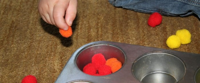 Small items that promote fine motor skills