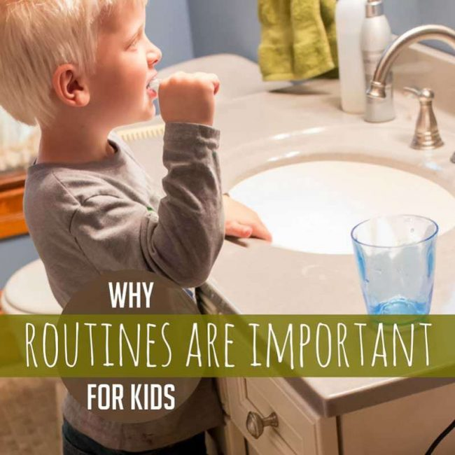 Why Routines for Kids are Important