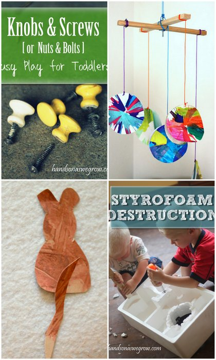 Busy Play Activities & Creative Activities