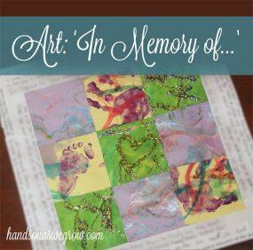 """In Memory Of"" Collaborative Kids Art"