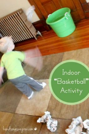 Indoor Throwing Activity That Won't Break Breakables