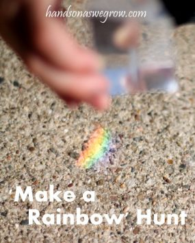 'Make A Rainbow' Hunt! with BabbaBox Giveaway!
