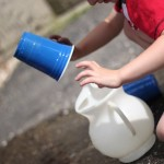 Pouring Water: Toddler Activity