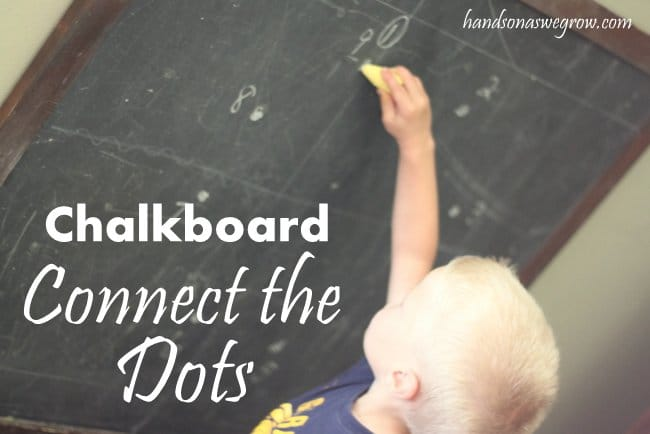 Chalkboard Connect the Dots