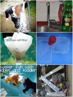 Water Activities on It's Playtime!