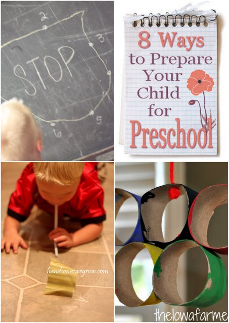 Preschooler Hands on Activities