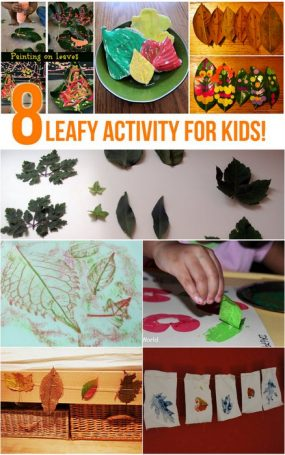 Leaf Activities for Kids
