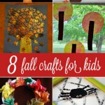 8 Fall Crafts for Kids! Gorgeous!