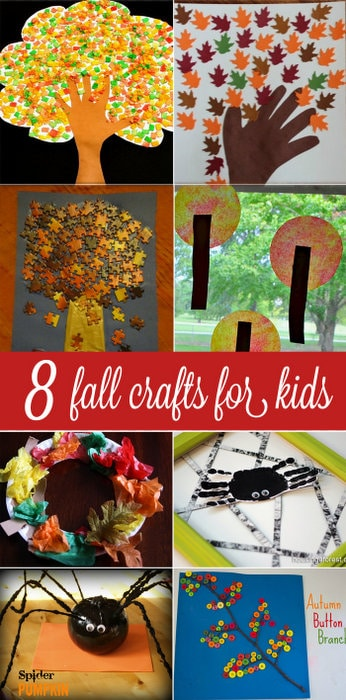 8 Fall Crafts for Kids to make that are absolutely gorgeous