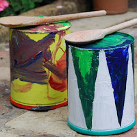 Big tin can drums