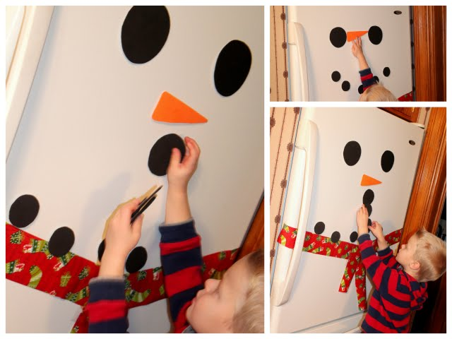 snowman crafty activity