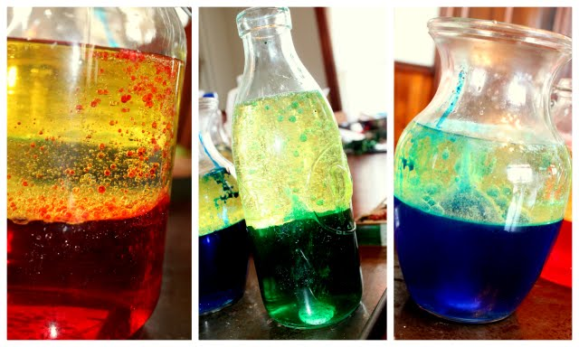 Make a Lava Lamp Science Experiment | Hands On As We Grow