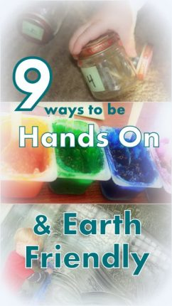 9 Hands on Ways to be Earth-Friendly
