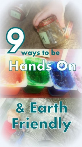 9 hands on ways to be earth friendly