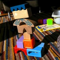 Tower Building Contest Activity for Kids